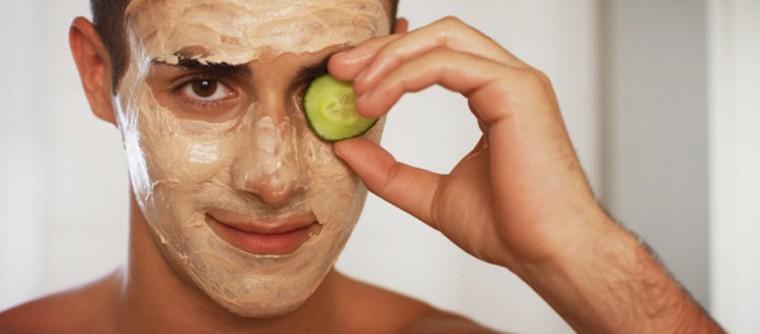 soins de peau des hommes
