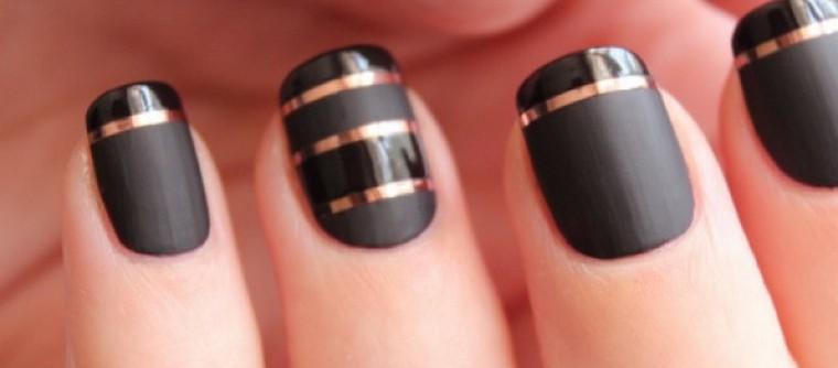 vernis à ongles bi matières