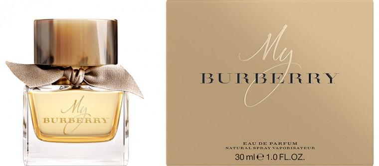 """Burberry étend sa gamme de parfum avec """"My Burberry Eau de Toilette"""""""
