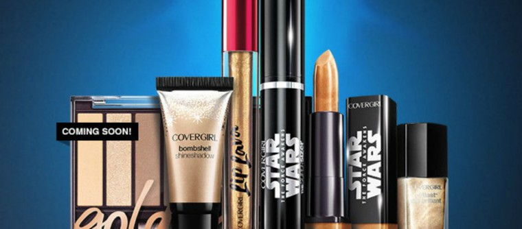 Covergirl sort une collection de maquillage Star Wars