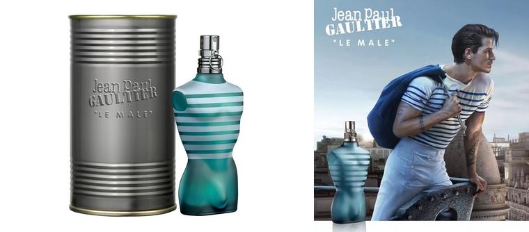 Parfum jean paul gaultier homme flacon noir