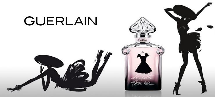 Affiche publicitaire parfum la petite robe noire