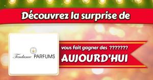 Lot Tendance Parfums pour le concours La surprise de Noël