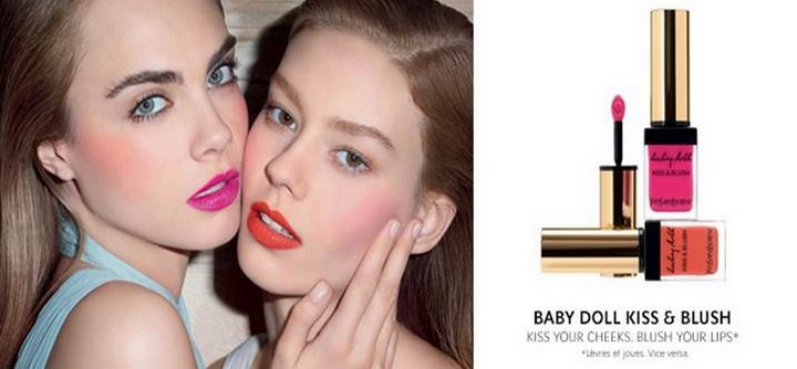Baby Doll Kiss & Blush d'Yves Saint Laurent