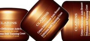 La crème délicieuse auto-brozante de Clarins
