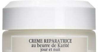 La crème Réparatrice au Beurre de Karité Jour et Nuit de Sisley