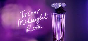 Le parfum Trésor Midnight Rose de Lancôme