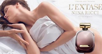 Décomposition de la publicité d'Extase de Nina Ricci