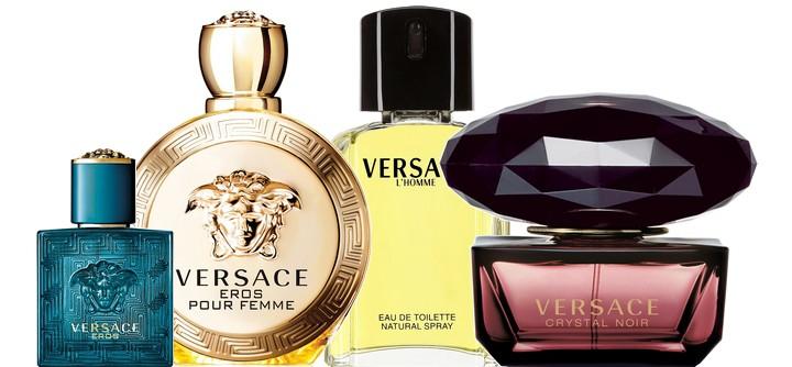 L'histoire des parfums de la maison Versace