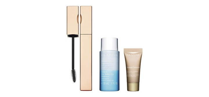 Le coffret Be Long Mascara de Clarins