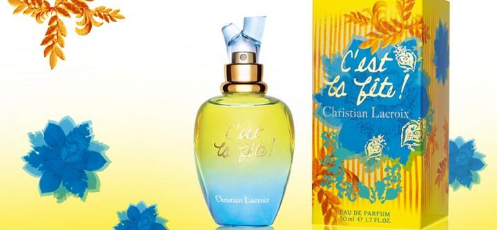 Le parfum C'est la Fête de Christian Lacroix
