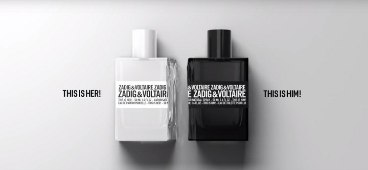THIS IS HER ! THIS IS HIM ! la pub Zadig & Voltaire