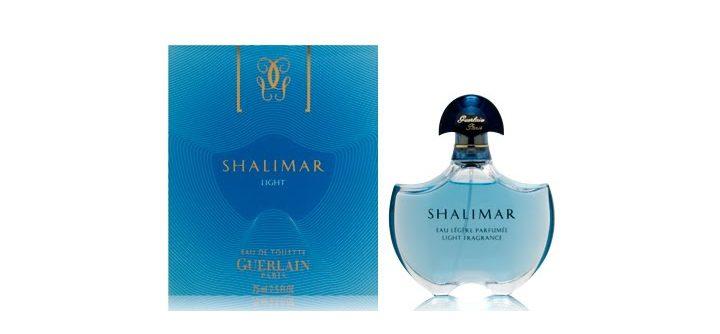 Le parfum Shalimar Light de Guerlain