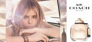 La spontanéité florale du premier parfum de Coach New York