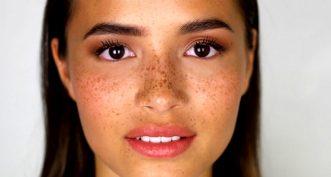 Comment bien maquiller une peau avec des taches de rousseur ?