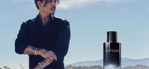 Quelles sont les publicités de parfum faites par Johnny Depp ?