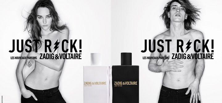 Lorsque les égéries se dénudent pour Just Rock Zadig & Voltaire
