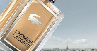 L'Homme Lacoste, le nouveau parfum des sportifs élégants