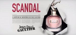 La publicité du parfum Scandal de Gaultier