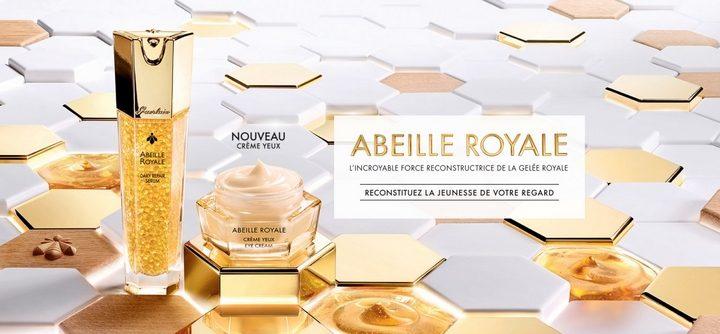 La gamme Abeille Royale de Guerlain