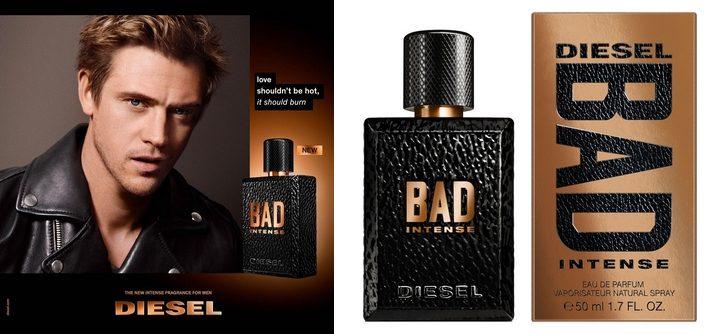 Diesel revisite sa fragrance BAD dans un parfum INTENSE