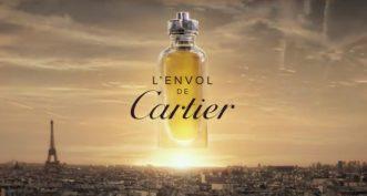 L'Envol de Cartier se révèle dans une nouvelle publicité