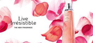 Les 3 parfums Live Irrésistible de Givenchy