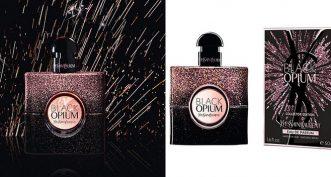 Black Opium Firework d'Yves Saint Laurent sort sa tenue de gala !