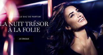 La Nuit Trésor à la Folie, la nouvelle Eau de Parfum Lancôme