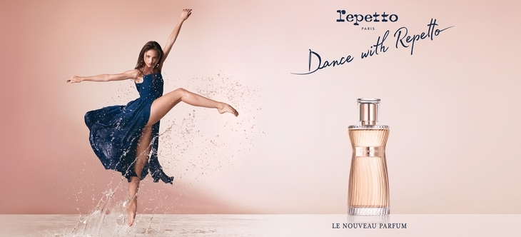 Dance with Repetto, le dernier parfum Repetto
