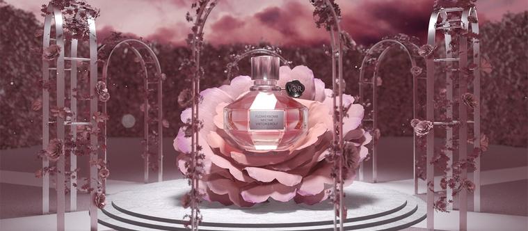 Flowerbomb Nectar, le nouveau parfum Viktor & Rolf