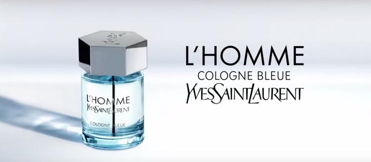 Publicité L'Homme Cologne Bleue YSL