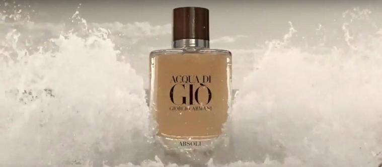 Acqua Di Gio Absolu : Armani dévoile sa nouvelle pub