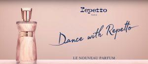 La publicité du parfum Dance with Repetto