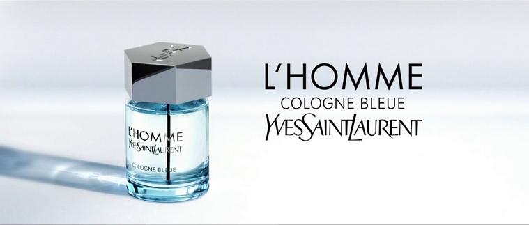 L'Homme Cologne Bleue, le nouveau chapitre du parfum star d'Yves Saint-Laurent