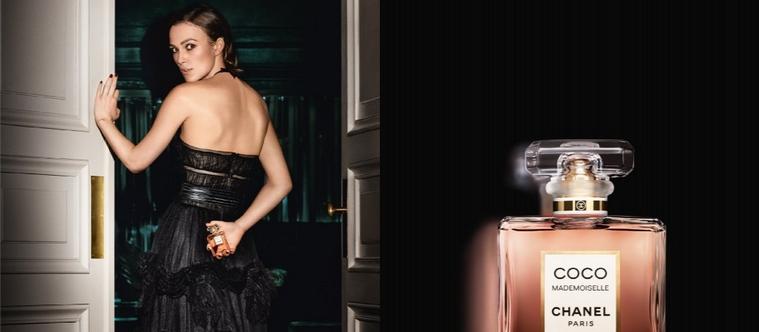 Keira Knightley dans la pub Coco Mademoiselle Intense