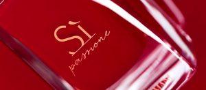 Si Passione, la nouvelle sensualité olfactive d'Armani
