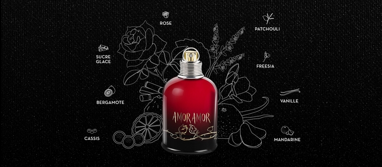 L'amour selon Cacharel : la fragrance Amor Amor