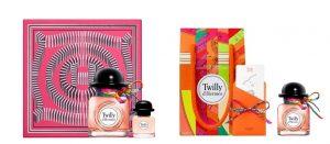 Twilly Hermès disponible dans 3 coffrets parfumés