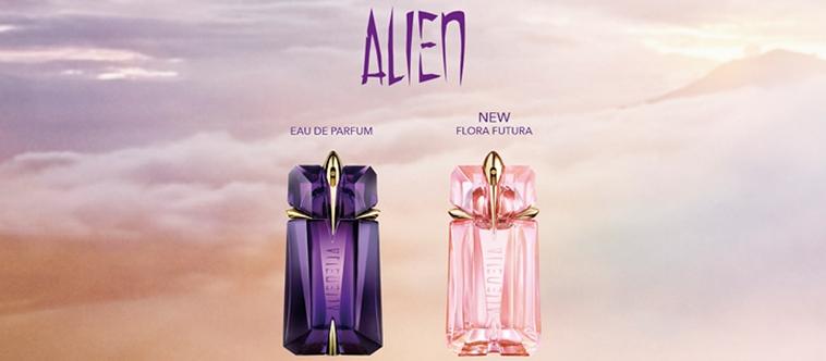Alien Flora Futura, la nouvelle divinité futuriste Mugler