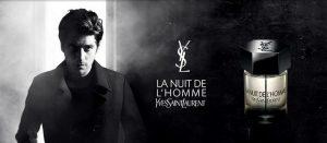 Les 4 parfums La Nuit de L'Homme d'Yves Saint Laurent