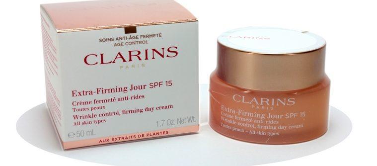 La nouvelle gamme de soins anti-âge « Extra Firming » de Clarins