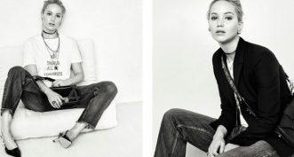 Jennifer Lawrence incarnera le nouveau parfum féminin Dior