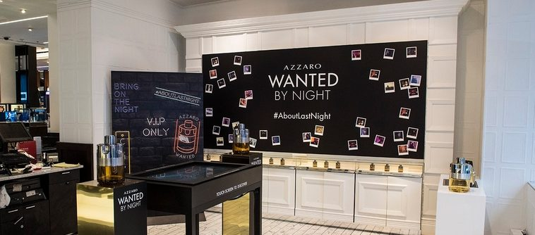 Wanted by Night, le nouveau masculin intense d'Azzaro