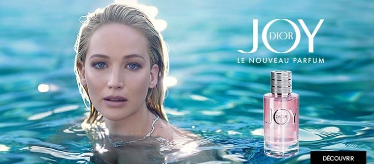 La publicité rafraîchissante pour le parfum Joy de Dior