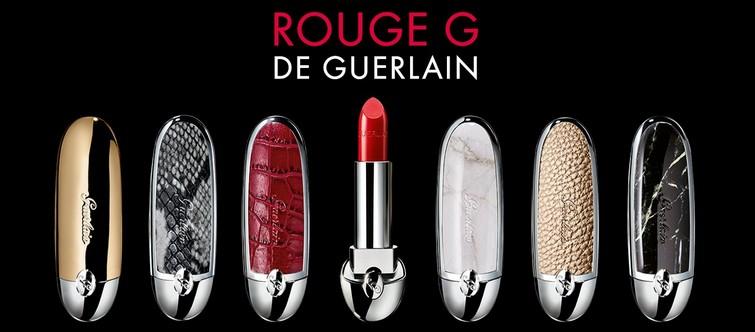 Le rouge à lèvres « rouge G » de chez Guerlain